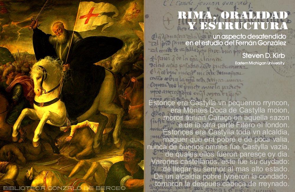 RIMA, ORALIDAD Y ESTRUCTURA: UN ASPECTO DESATENDIDO EN EL ESTUDIO ...